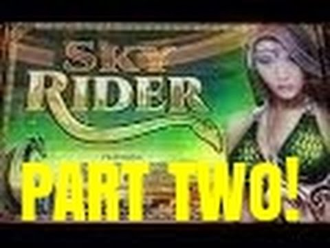 SKY RIDER SLOT MACHINE BONUS-PART TWO at Venetian