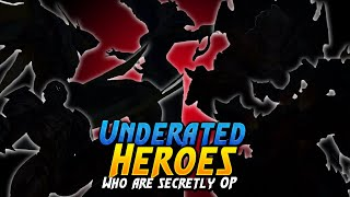 5 Underrated heroes who are actually strong in Mobile Legends | Mobile legends