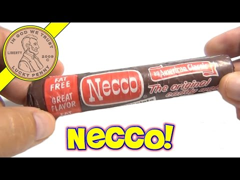 Necco Wafers Chocolate Pack - The Original Candy Wafer
