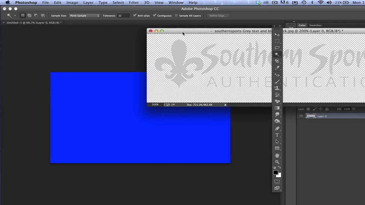 How to Remove Logo background in photoshop | make logo ...