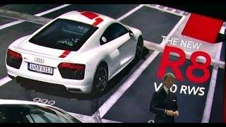 Audi RS at IAA 2017 - R8 RWS and RS4 Avant
