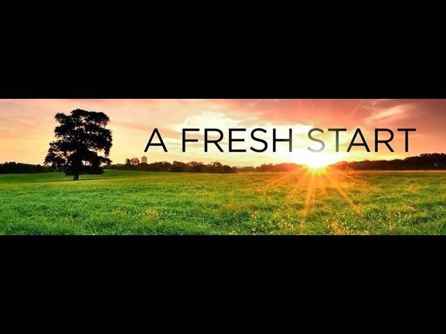 Fresh Start Sermon Series 2021