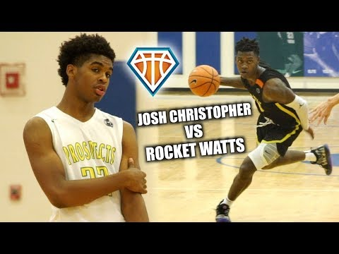 Josh Christopher GETS CLUTCH BUCKET IN CHAMPIONSHIP GAME!!  LVP vs Rocket Watts & The Family