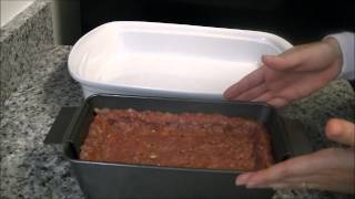 Meatloaf Recipe & Perfect Meatloaf Pan Set Product Review