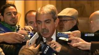 """Aníbal Fernández dijo que los jueces """"deberían seguir hablando a través de sus sentencias"""""""
