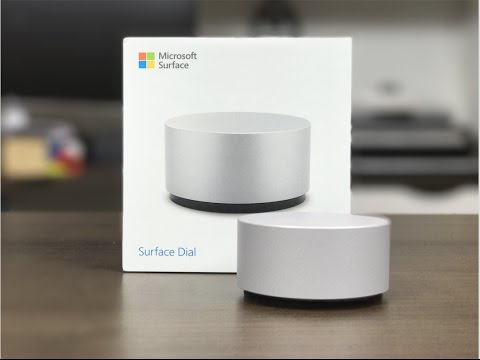 Kết quả hình ảnh cho Surface Dial unbox