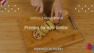 Przepis na mini tortille