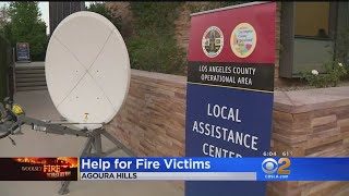 Disaster Assistance Centers Open For Fire Victims