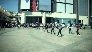 HellecTRON FlashMob at Habour Mall !!