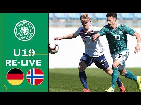 Deutschland - Norwegen | Volle Länge | U19 EM-Qualifikation | Eliterunde