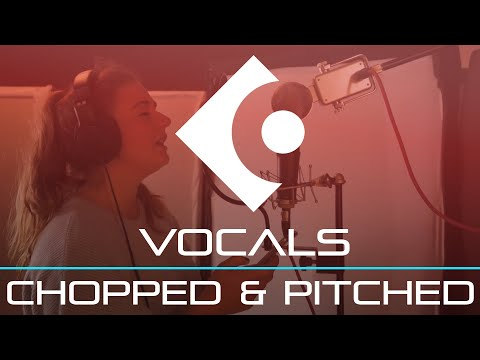 How to Chop & Pitch Vocals – Cubase Tutorial
