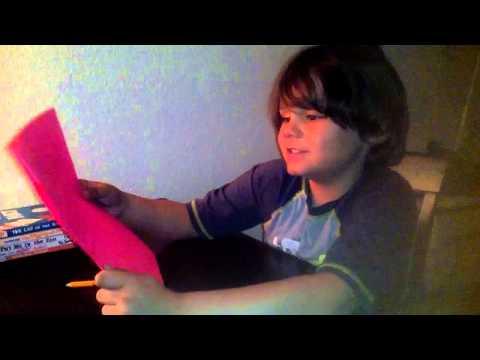Neil reading homework first grade