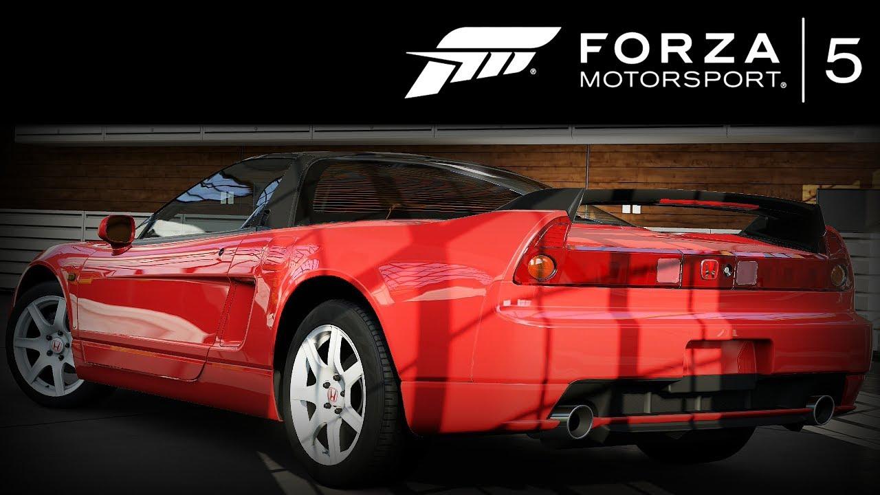 Forza 5 Honda NSX-R 2005 Forzavista +1 Lap - YouTube