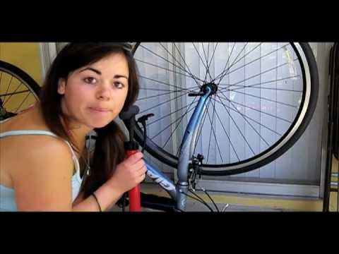 how to fix a flat bike tire wikihow