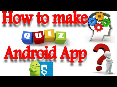 How to make Quiz android Application  Sketchware Tutorials