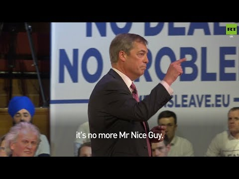 "Farage if there's 2nd #Brexit ref: ""It's no more Mr Nice Guy"""