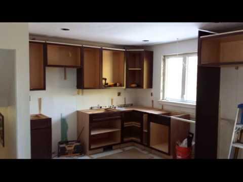 Kitchen Remodel  6 Square Cabinets