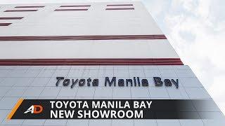 Toyota Manila Bay's new showroom