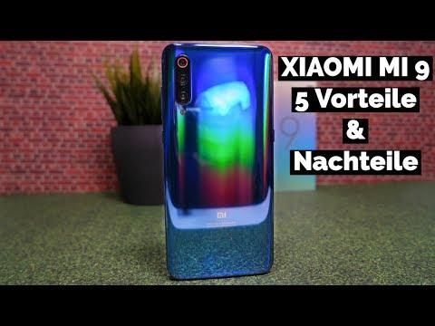 XIAOMI MI 9 - 5 Nachteile & Vorteile | CH3 Review Test Deutsch