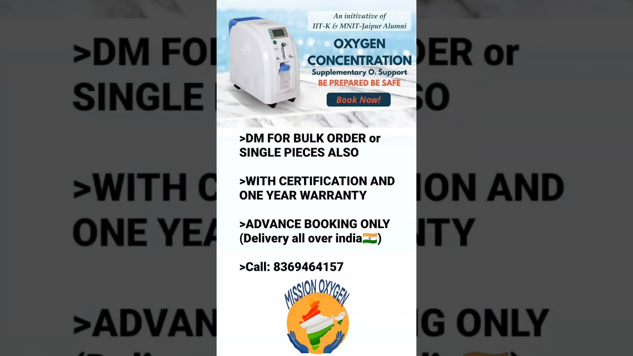 Download #covid #oxygen  OXYGEN CONCENTRATION _ Call : 8369464157