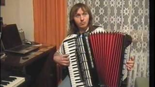 CIKÁNKA -Czech  tango -Du schwarzer Zigeuner na akordeon