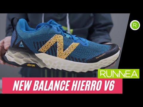 New Balance Fresh Foam Hierro v6,  zapatillas trail running para rodadores que busquen comodidad