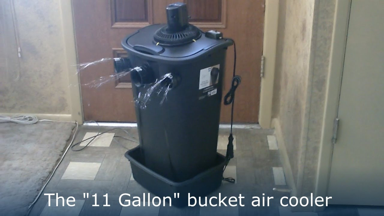Homemade Air Conditioner Diy The Quot 11 Gallon Bucket Quot Air