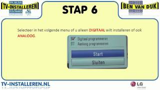 LG 42LD540 TV Installeren - LG TV Installeren - Ci+ Installeren
