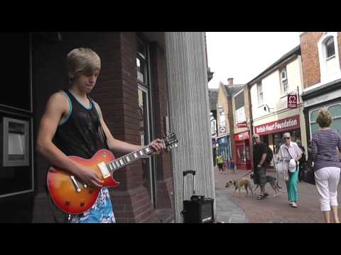 James Bell - Only you can rock me (UFO) Busking
