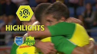ESTAC Troyes - FC Nantes (0-1) - Highlights - (ESTAC - FCN) / 2017-18