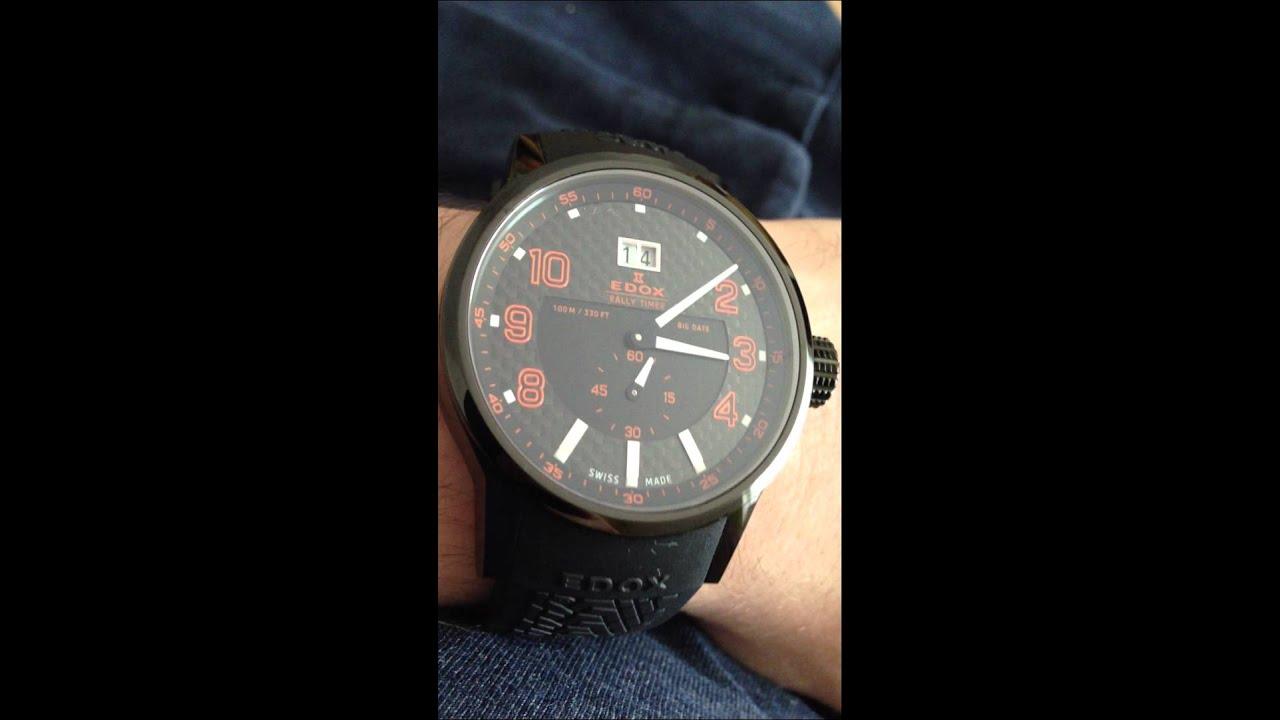 Edox Wrc Rally Timer Youtube