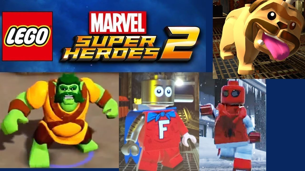 <b>LEGO Marvel Super Heroes 2</b> - All 23 <b>Cheat Codes</b> - YouTube