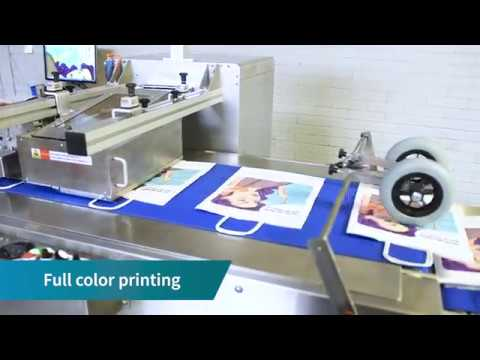 Rollenco DigiFlex For Printing Full Color On Carrier Bags