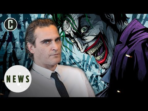 Joaquin Phoenix's Joker Movie Gets Title & Release Date