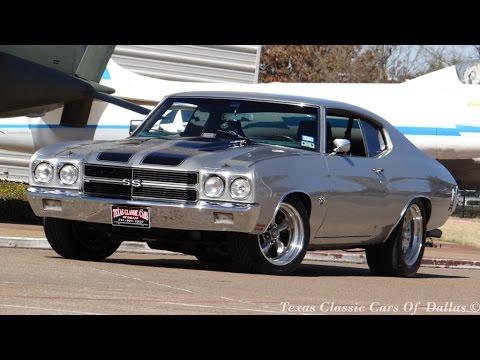 Chevy Chevelle 2016 >> 1970 Silver Bullet Monster 502 Chevelle SS - YouTube