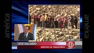 Entrevista a Ministro José Gallardo  en Canal 4