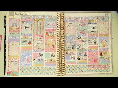 Plan With Me - Winter Wonderland (The Paper Llama)