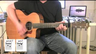 Against All Odds - Acoustic Guitar - Tutorial - Phil Collins - Chords