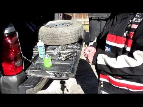 Stuck spare tire on GM trucks Fix