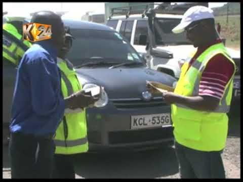 Msako wa NTSA katika barabara ya Nakuru-Nairobi