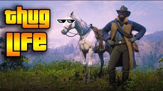RDR2 : THUG LIFE (FUNNY MOMENTS, WINS & FAILS COMPILATION #1)