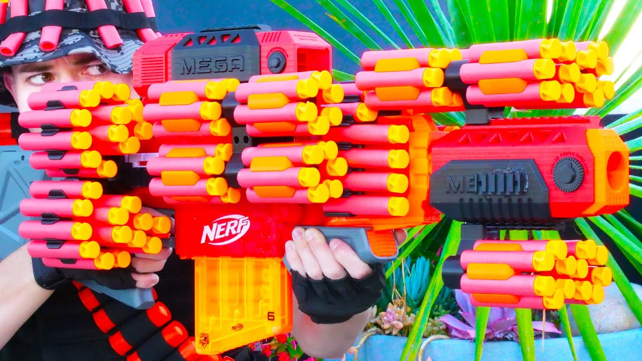 Nerf War: Million Subscribers Battle