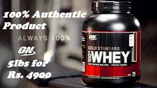 Get Whey Protein at cheapest Price ever