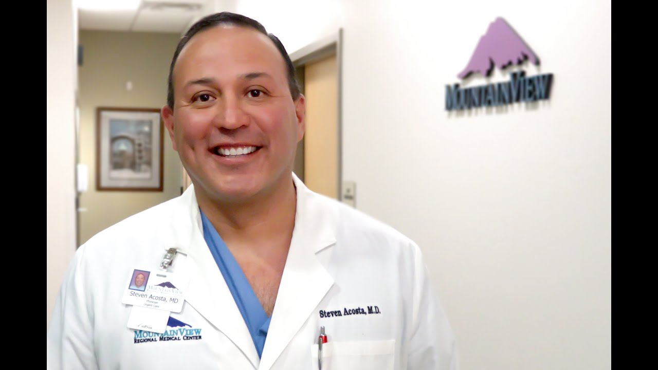 Mountain View Regional Medical Center Physician Youtube