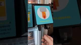 에버마켓25 무인스마트자판기 시연 2