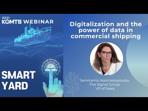 Ditalization and the power of data in commercial shipping - Semiramis Assimakopoulou/Signal(Kor)