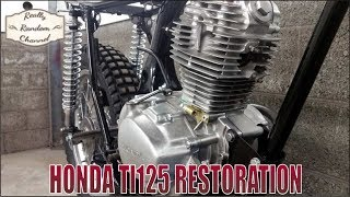 1975 Honda TL125 K2 Full Restoration Episode 5