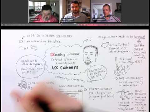 Webinar: UX Careers with Patrick Neeman