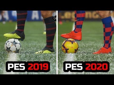 PES 2019 VS PES 2020 - GRAPHICS COMPARISON