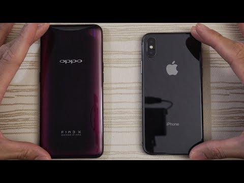 Oppo Find X vs iPhone X - Speed Test! Which is Faster?